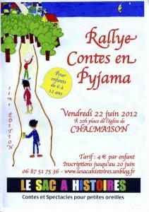 RALLYE CONTES EN PYJAMA 2012 - 2ÈME EDITION dans RALLYE contes en pyjama AfficheRallyeJuin2012-1-211x300